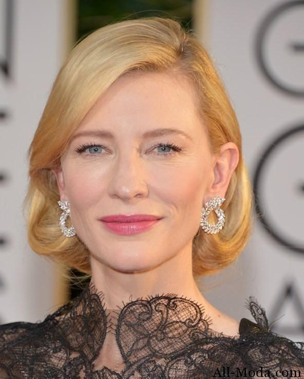 Cate-Blanchett-Лучшие прически звезд на Золотом глобусе