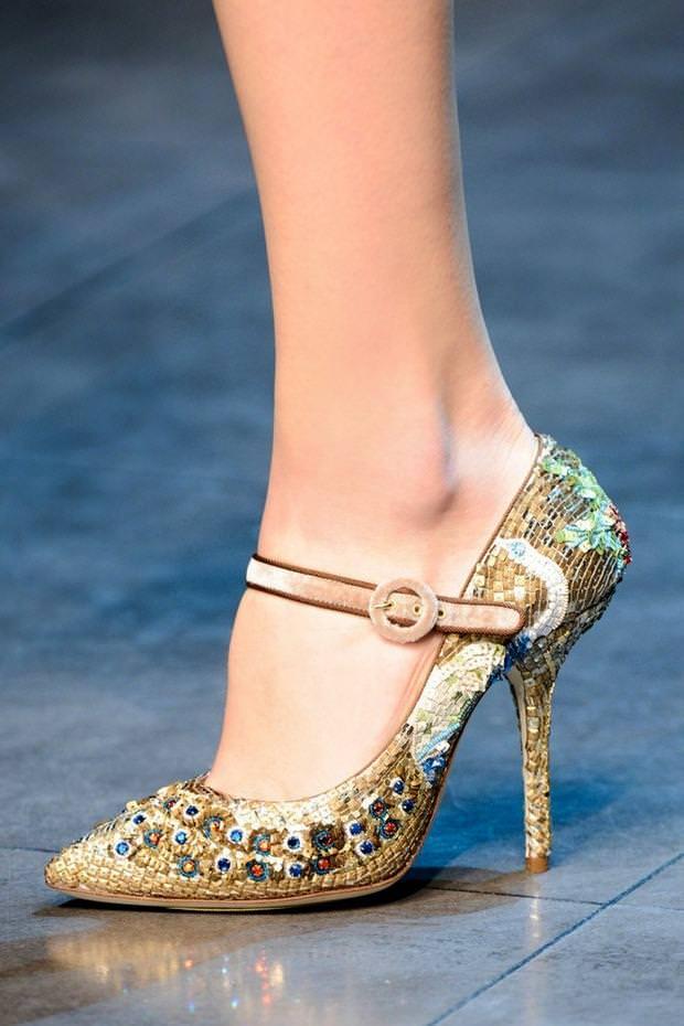 Модная женская обувь 2014