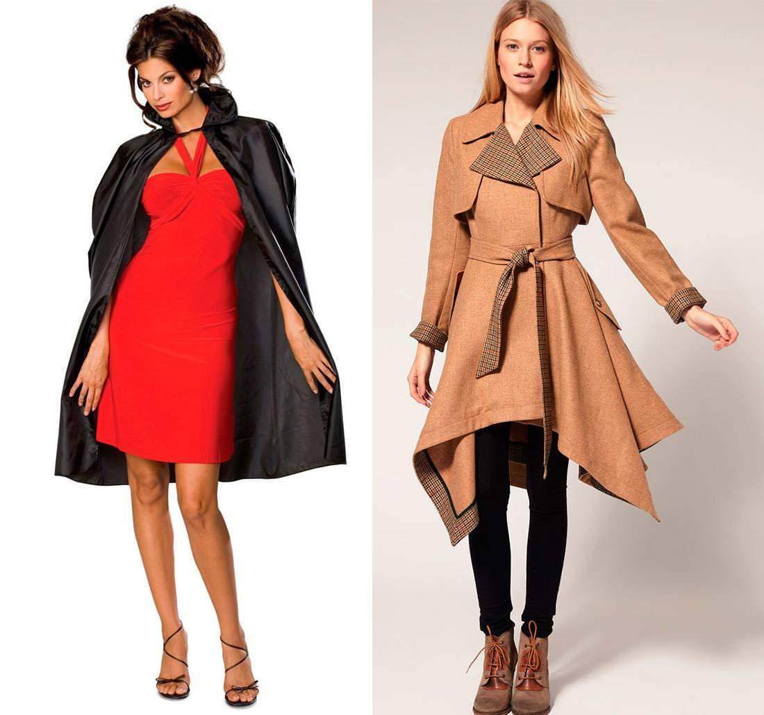 модные женские плащи 2014