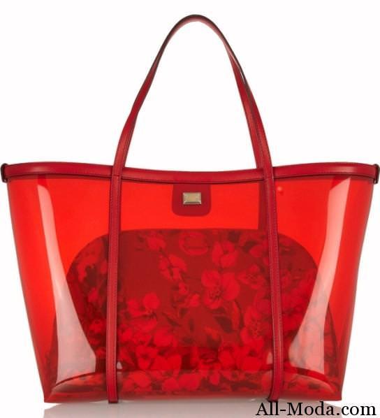 модные прозрачные сумки фото