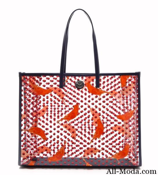 модные прозрачные сумки