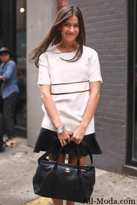 уличная мода весна 2014