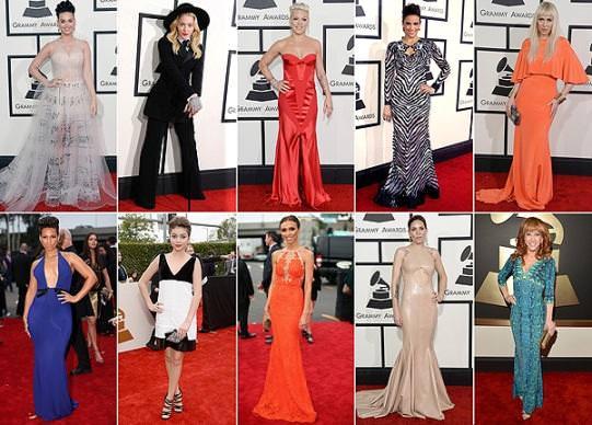 Худшие платья знаменитостей