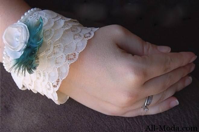 винтажный браслет своими руками