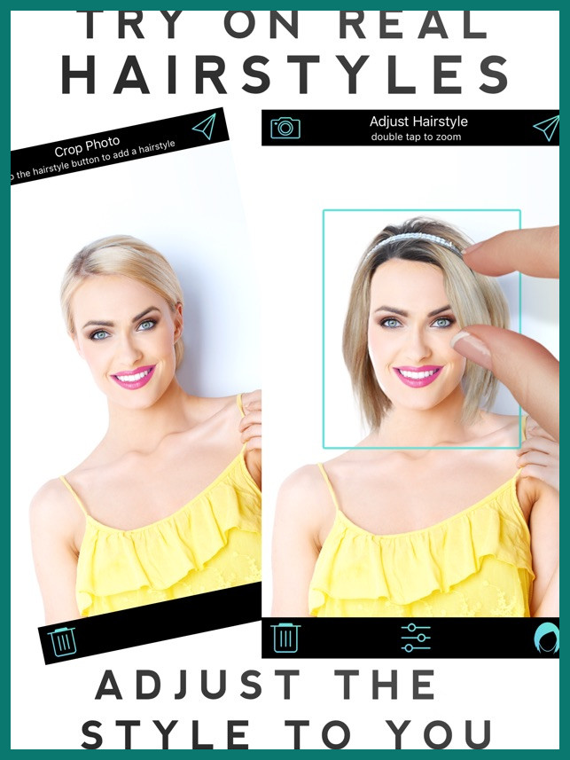 app to test hairstyles 294797 Hairstyle Makeover on the App Store