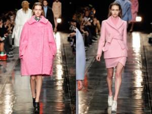 розовое пальто с чем носить