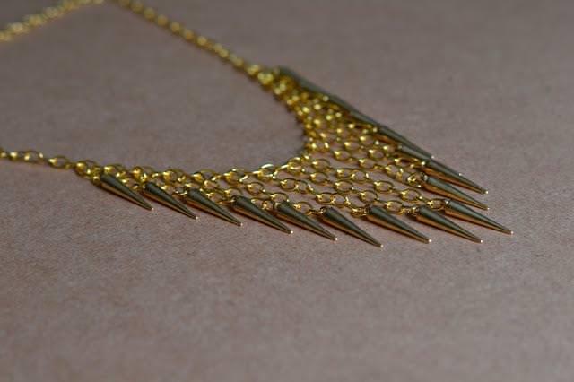 ожерелье с шипами своими руками