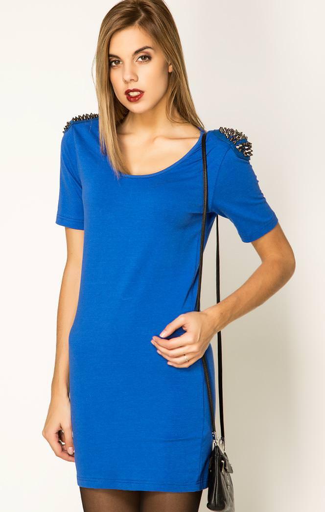 платья насыщенно синего цвета фото