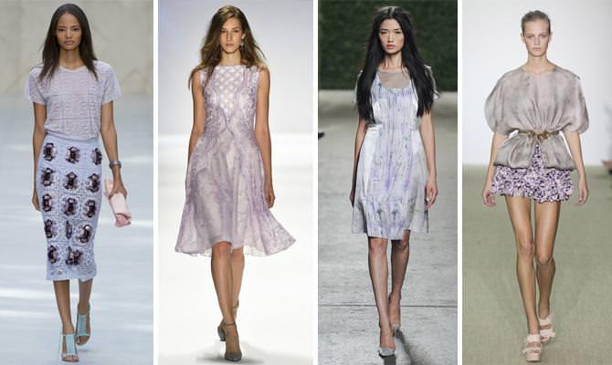 сиреневые платья фото 2014