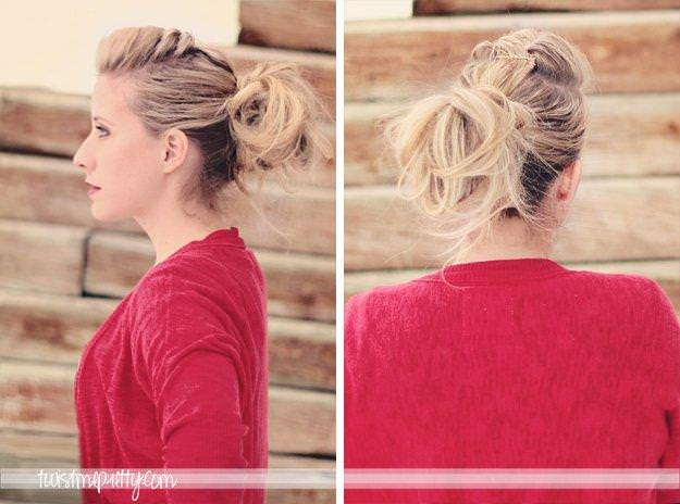 Braided-Pompadour