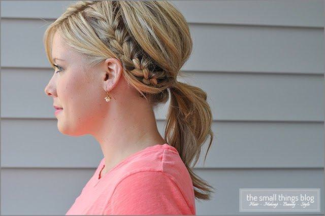 Half-French-Braid-Ponytail