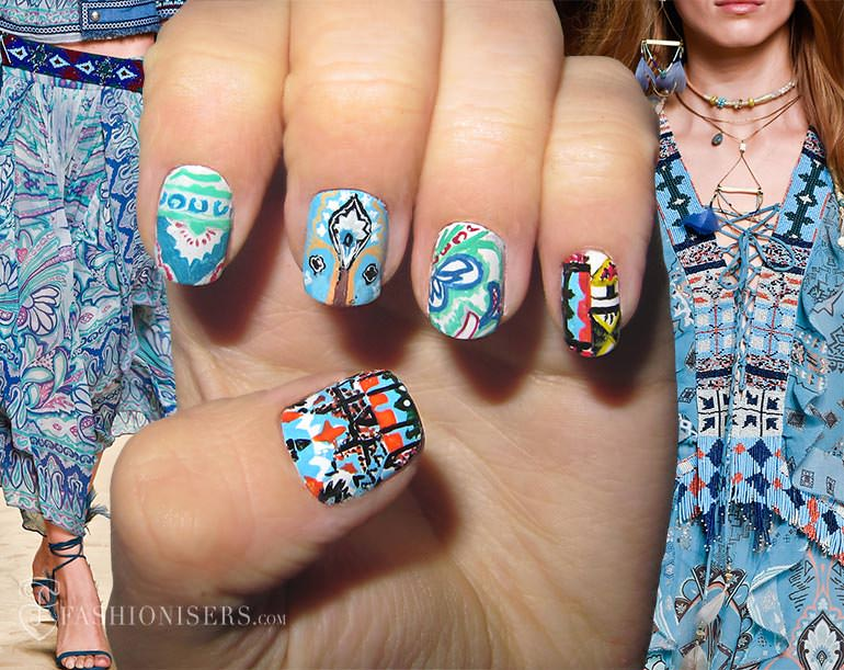 spring_2015_runway_inspired_nail_art_designs_Etro_fashionisers