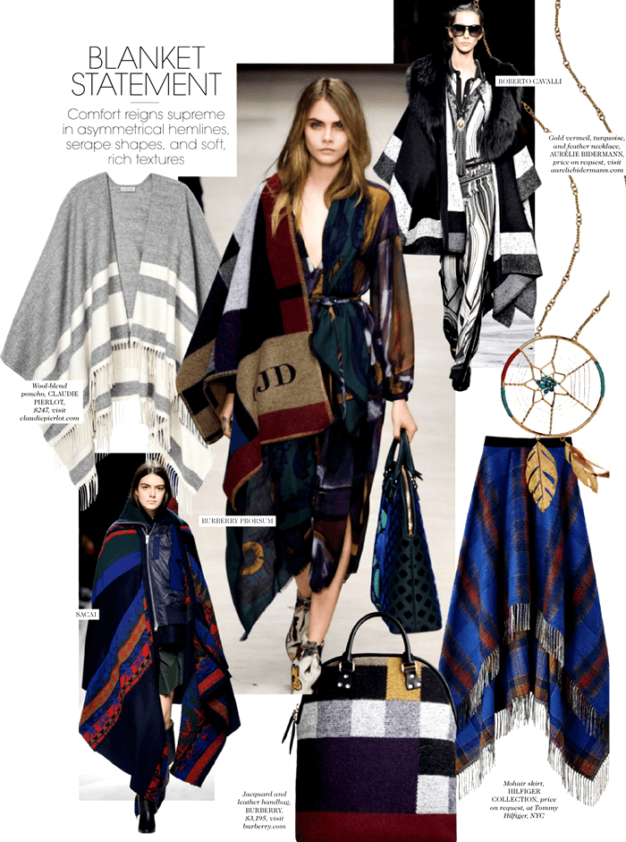 fashion trends 2015 blankets poncho autumn winter must have womens designer fashion online shop bloh 2015 2016
