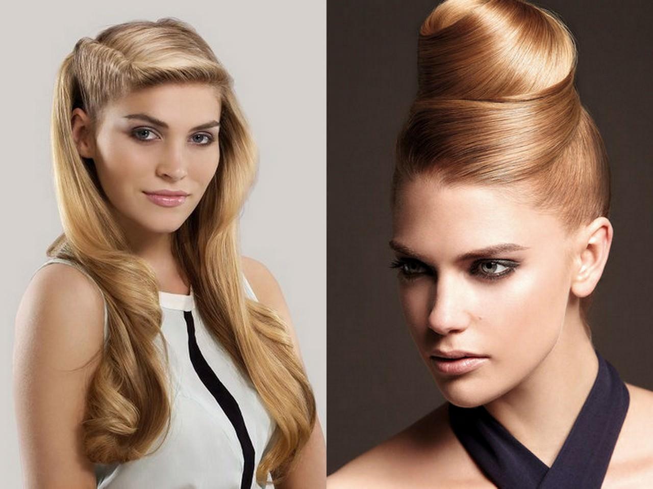Стильные женские прически на длинные волосы фото
