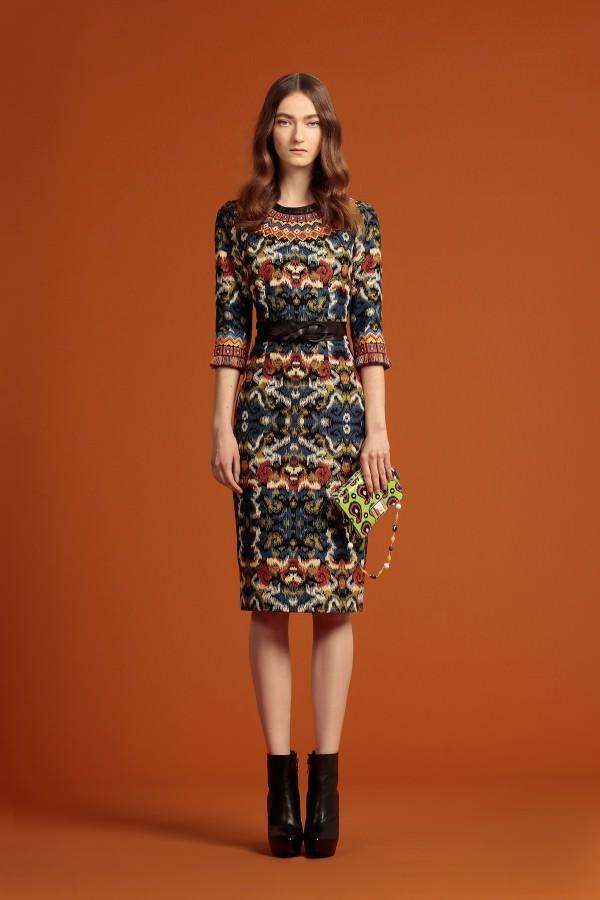 лекало для платья с воланами