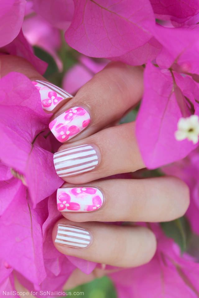 Vietnam-Pink-Blooms-Floral-nail-art-tutorial