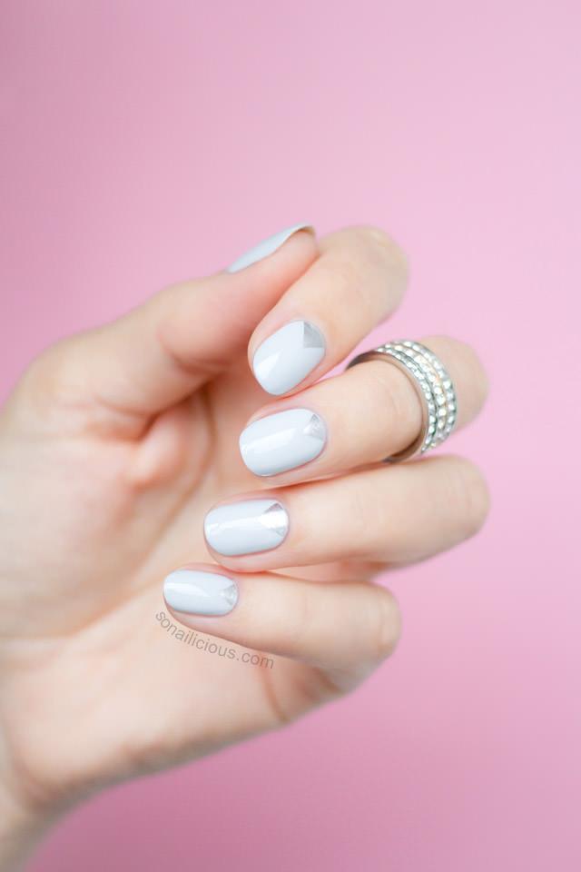 pretty-grey-nails