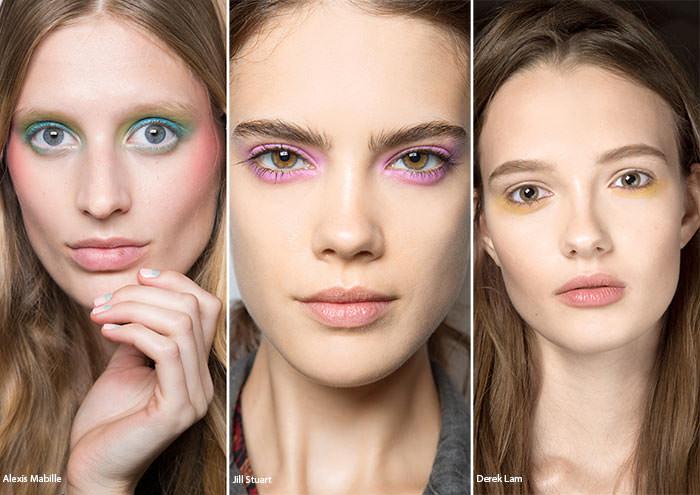 тенденции макияжа весна лето 2016