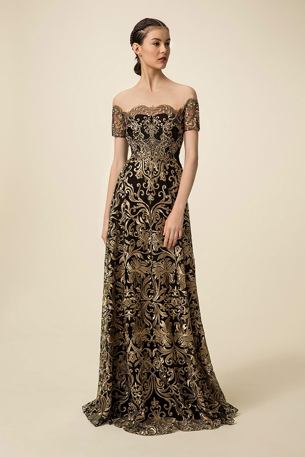 Красивые платья в пол картинки