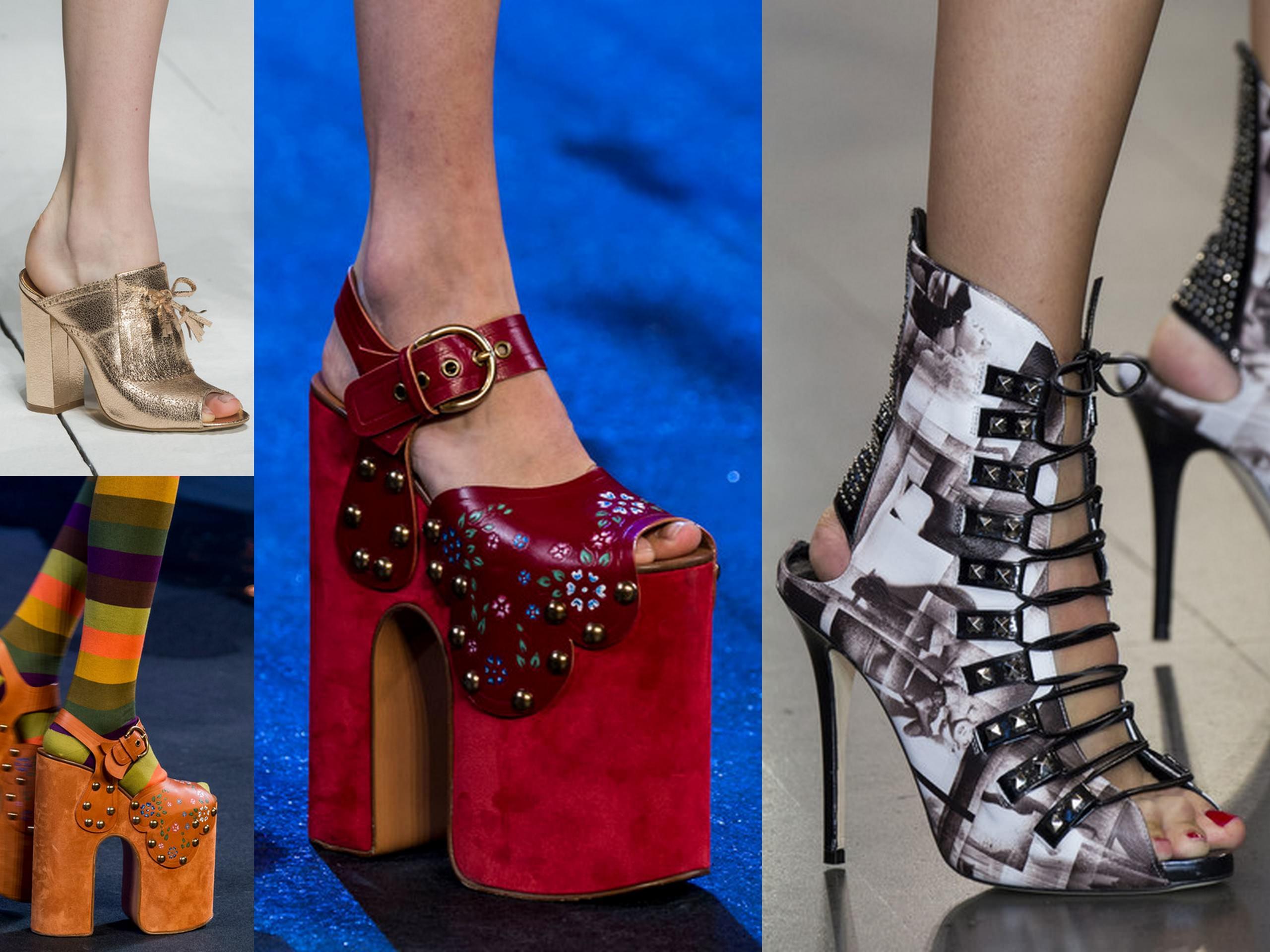 Модные тенденции сезона обувь 13