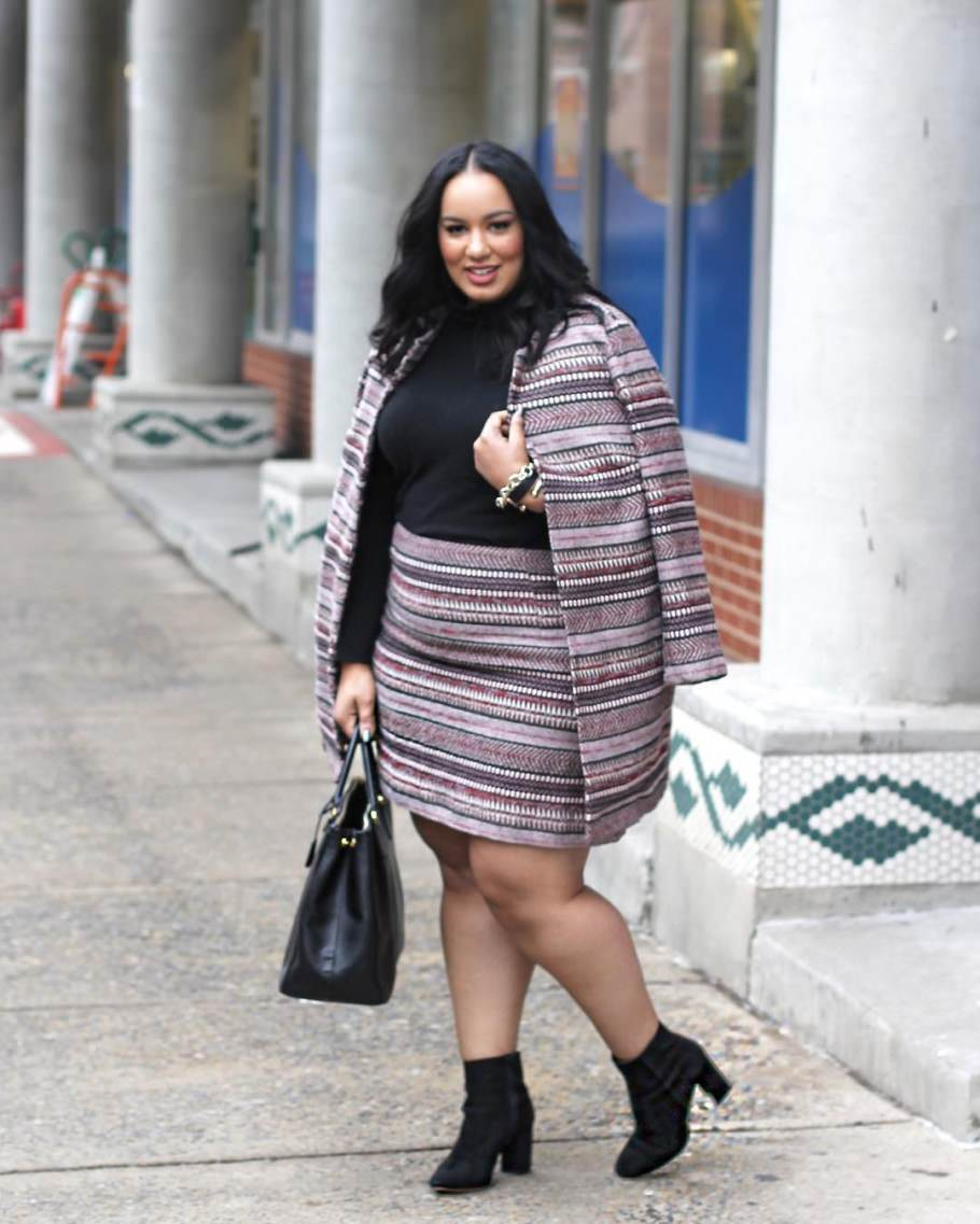 Мода для полных женщин 2018: главные тенденции года