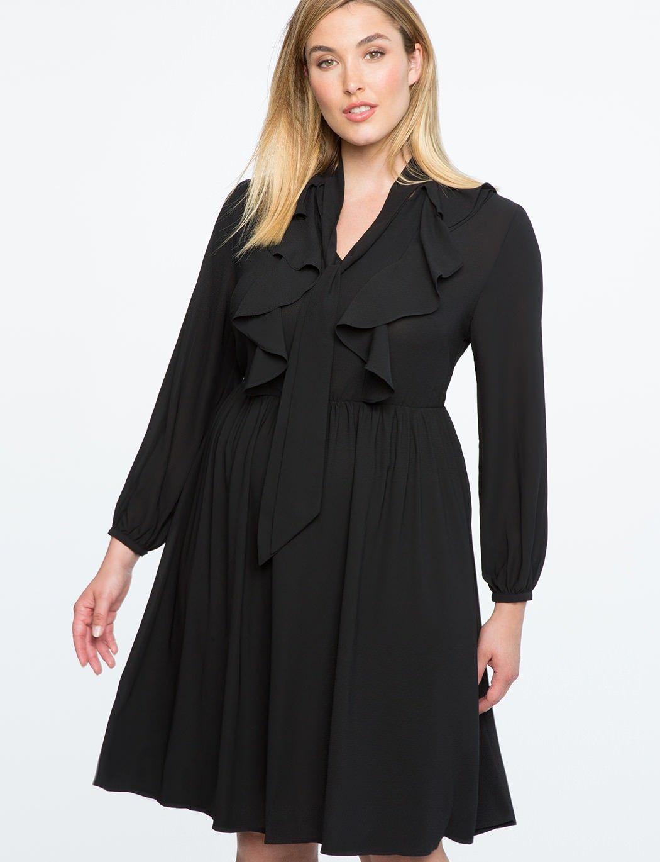 793b68ed099 Платья для полных женщин 2018  модные новинки