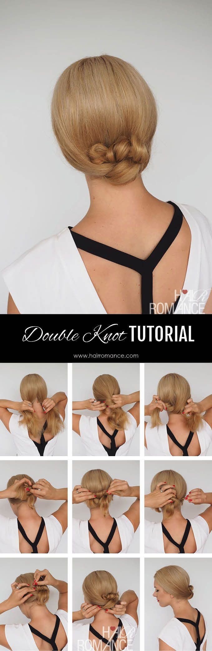Hair-Romance-Double-Knot-Bun-Tutorial-1