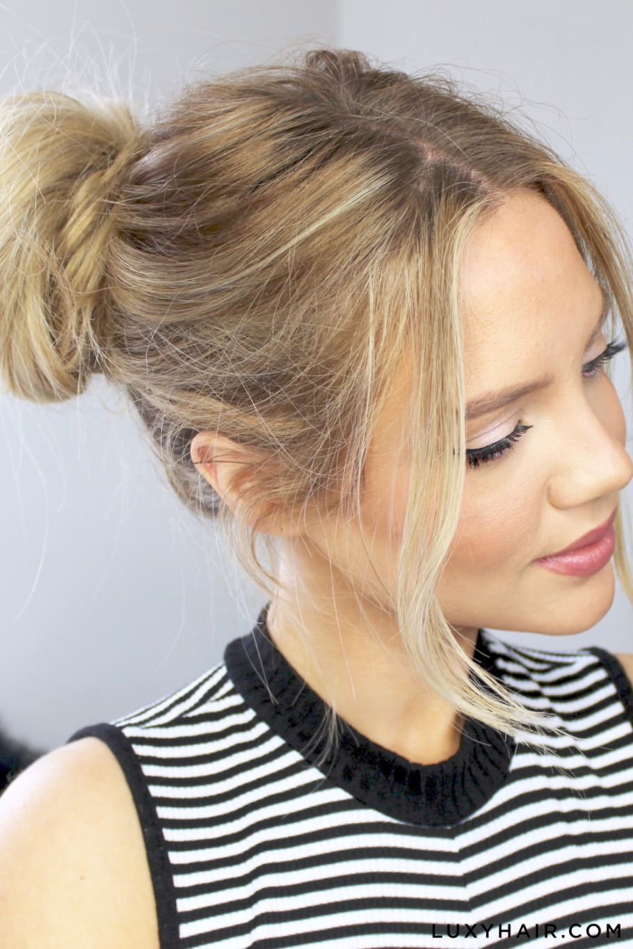 Luxy+Hair+Cute+&+Easy+Messy+Buns (1)