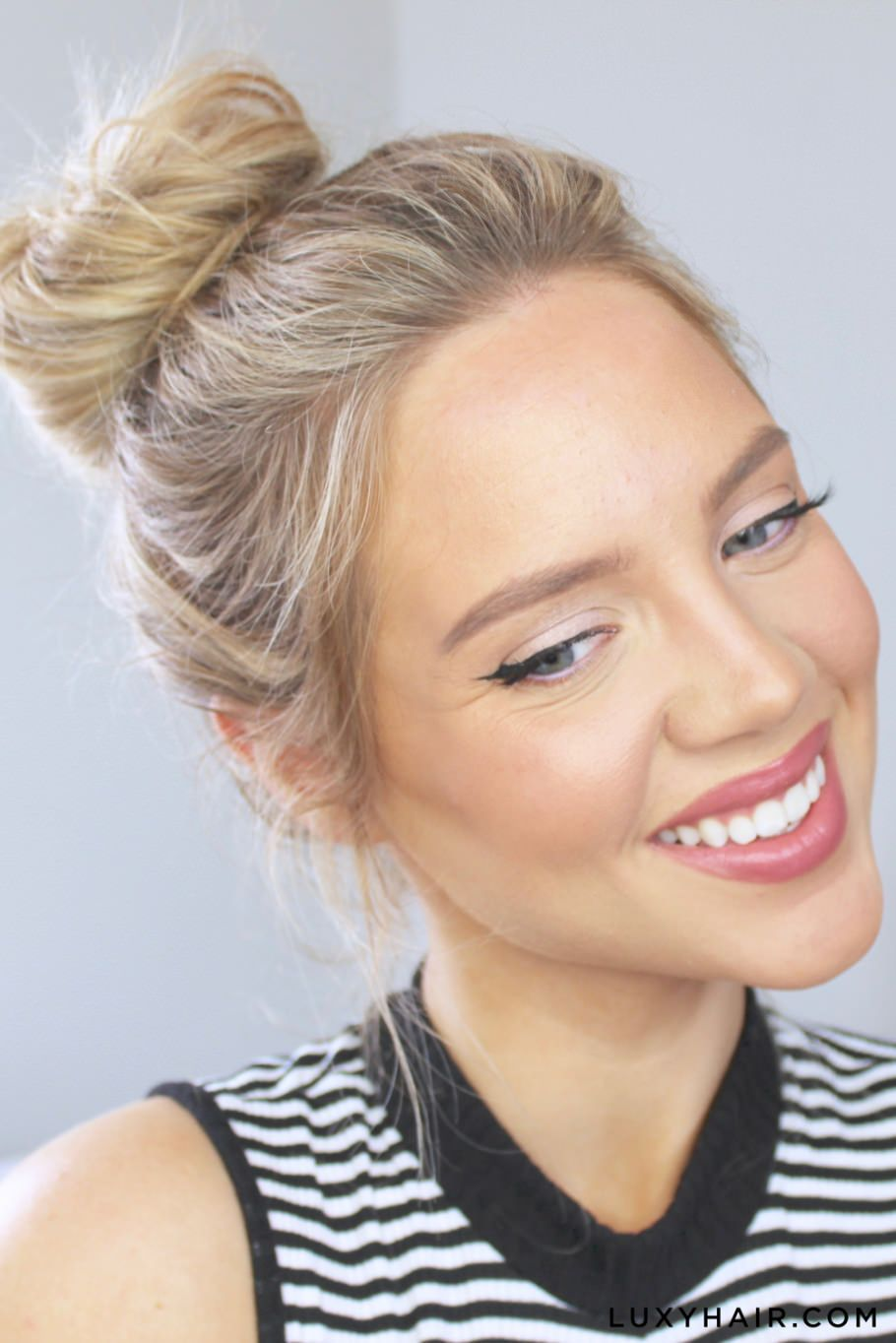 Luxy+Hair+Cute+&+Easy+Messy+Buns (2)